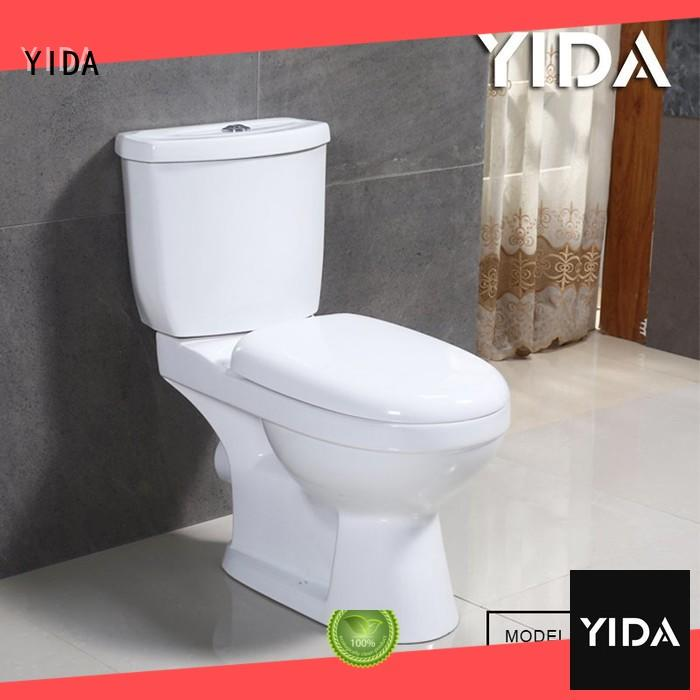 YIDA good quality two piece toilets widely applied for WC
