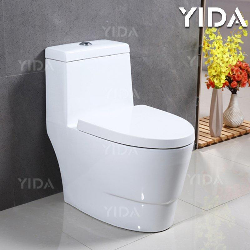 One Piece Toilet Siphonic Flush 8015