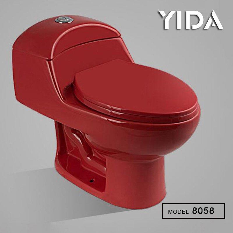 One Piece Toilet Siphonic Flush 8058