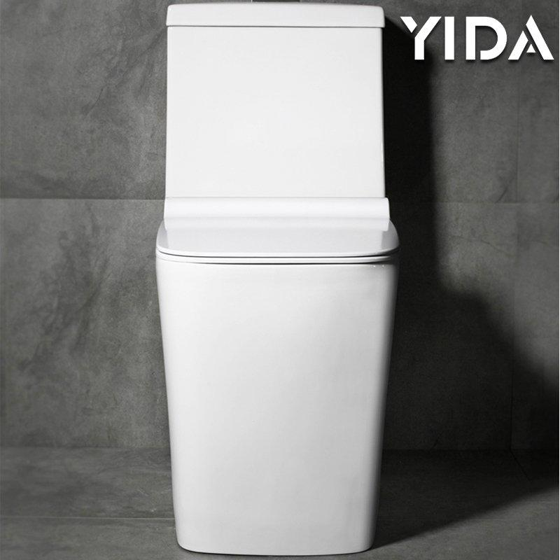 One Piece Toilet Siphonic Flush 8108