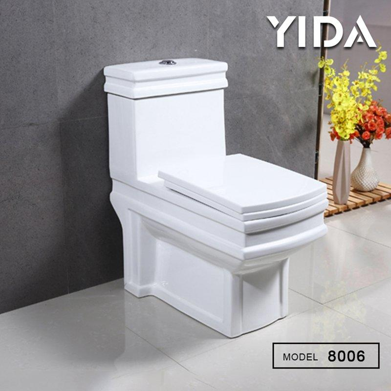 One Piece Toilet Washdown Flush 8006