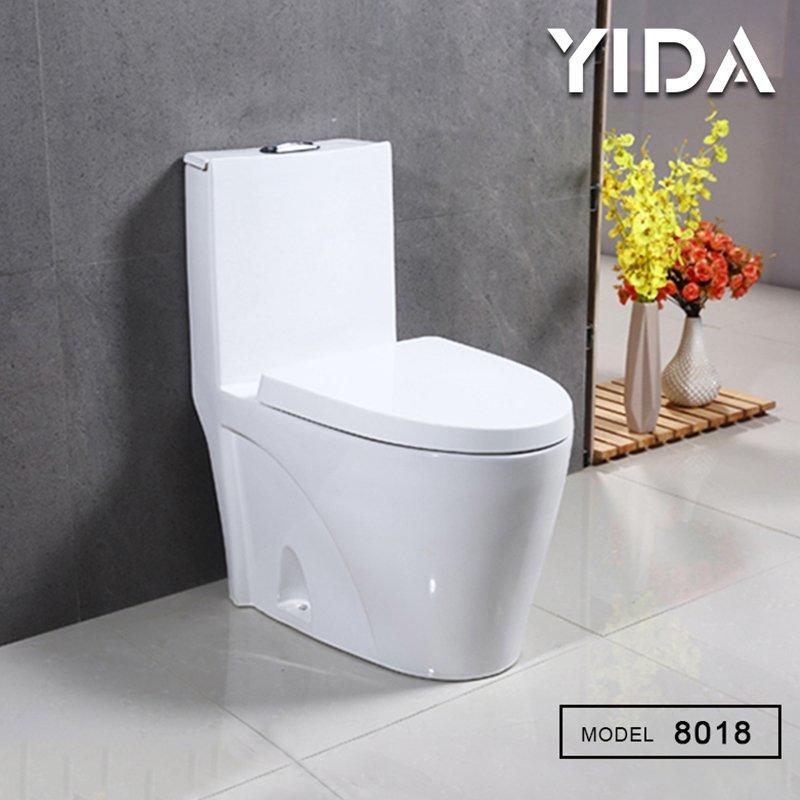 One Piece Toilet Washdown Flush 8018