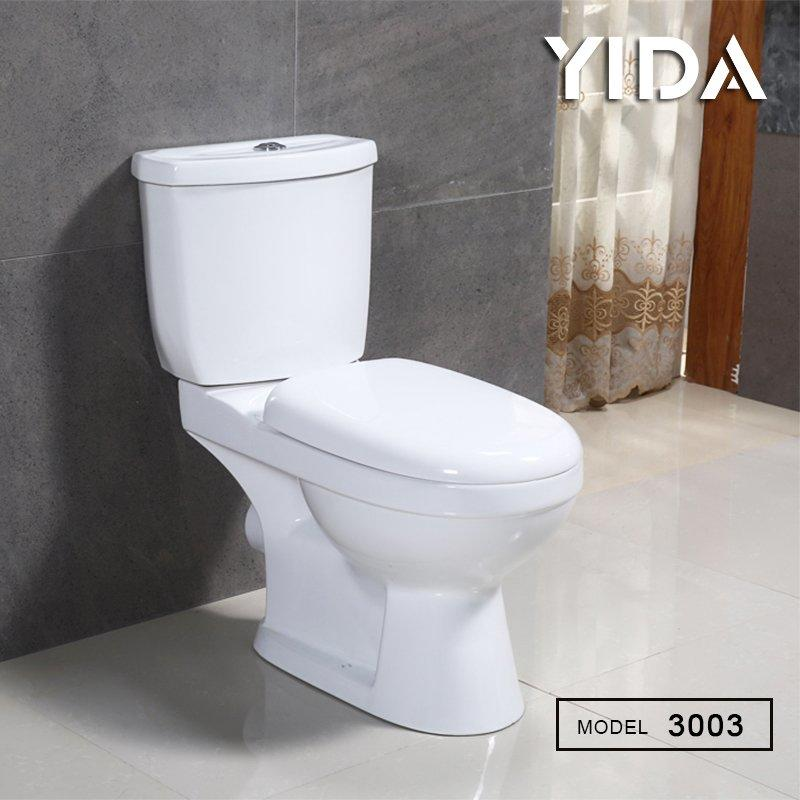 Two Piece Toilet Washdown Flush 3003