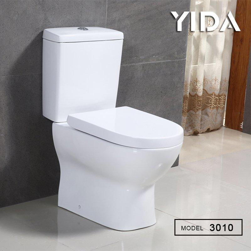 Two Piece Toilet Washdown Flush 3010