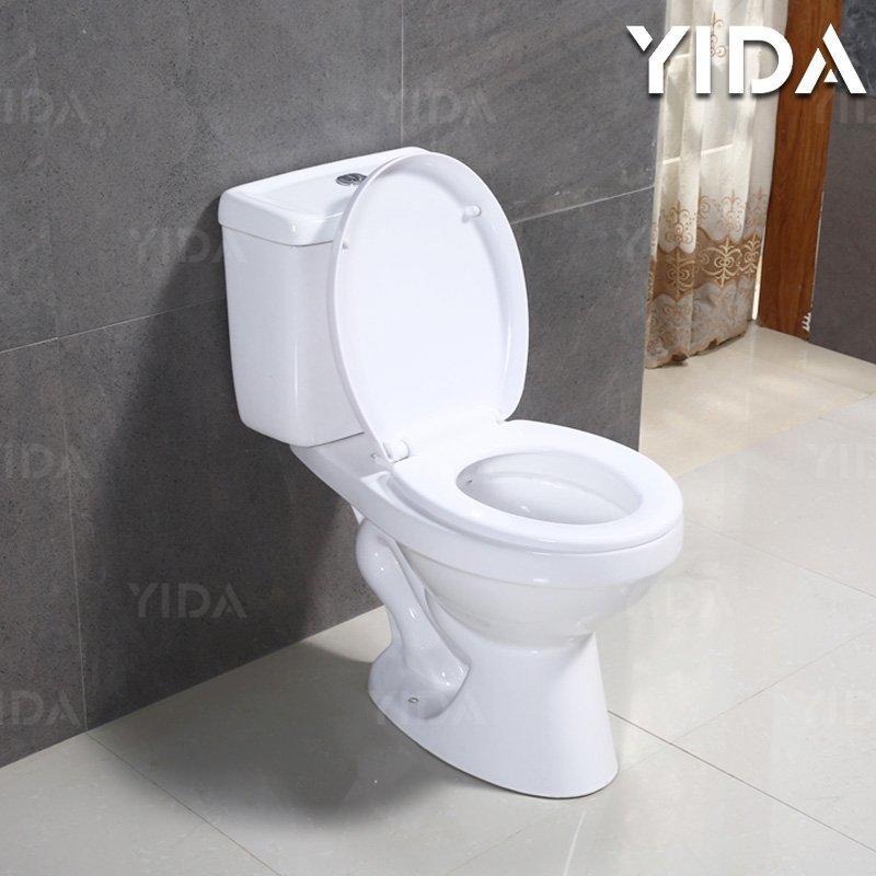 Two Piece Toilet Washdown Flush 3015