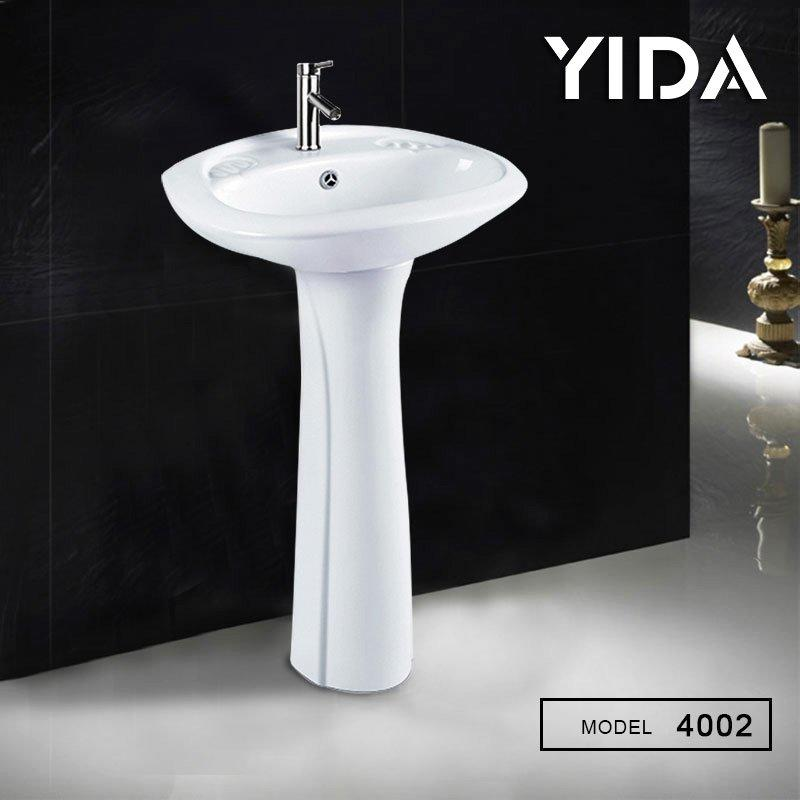 Small Pedestal Basin bathroom sanitary ware - 4002