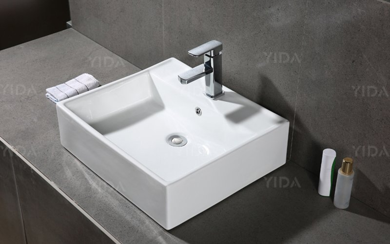 YIDA art sink widely employed for restaurant water closet-5