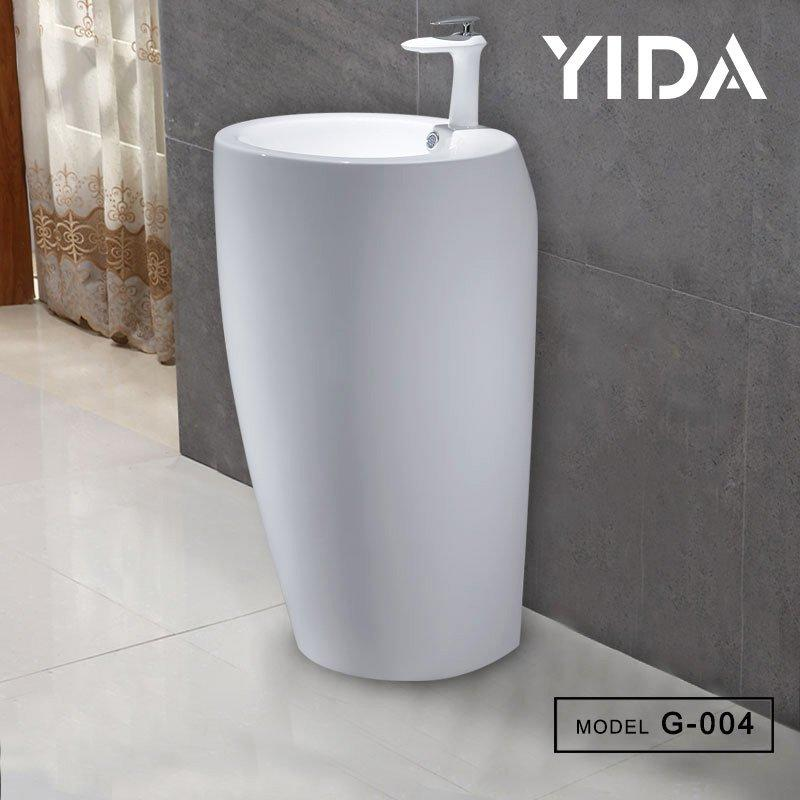 Free Standing Washroom Basin G-004