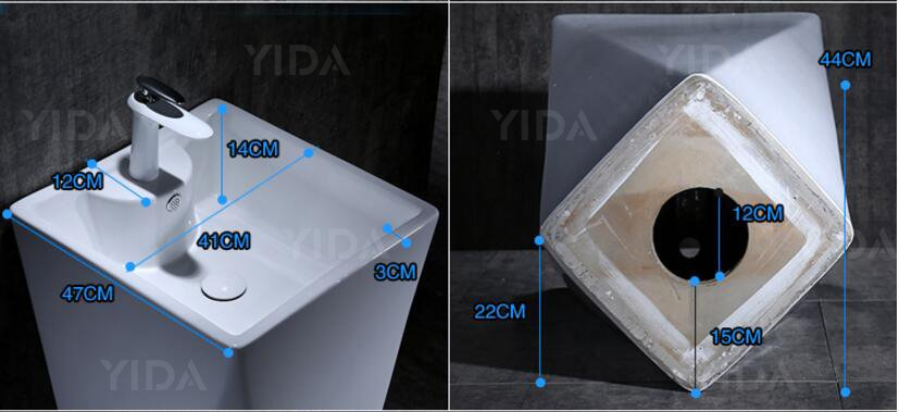 economical free standing wash basin best choice for hotel-4