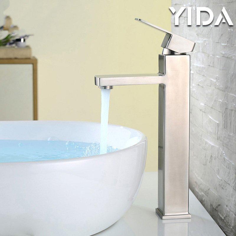 Bathroom Faucet Stainless Steel 83021