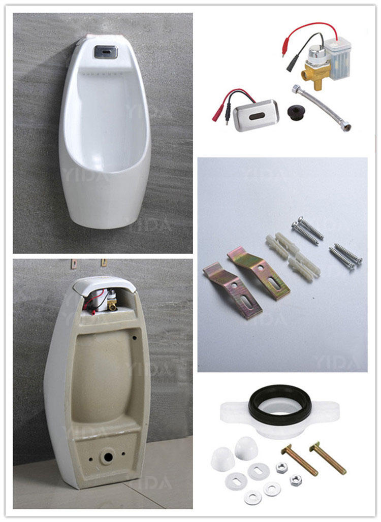 Wall Hung Urinal for Restaurant Public Toilet - 7015