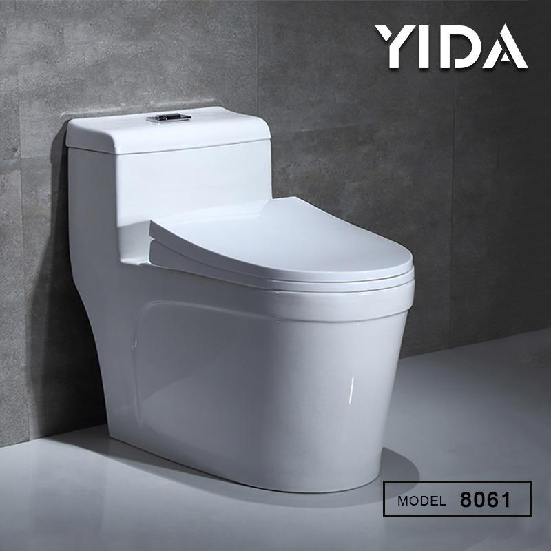 Modern bathroom sanitary water closet pan ceramic toilet - 8061
