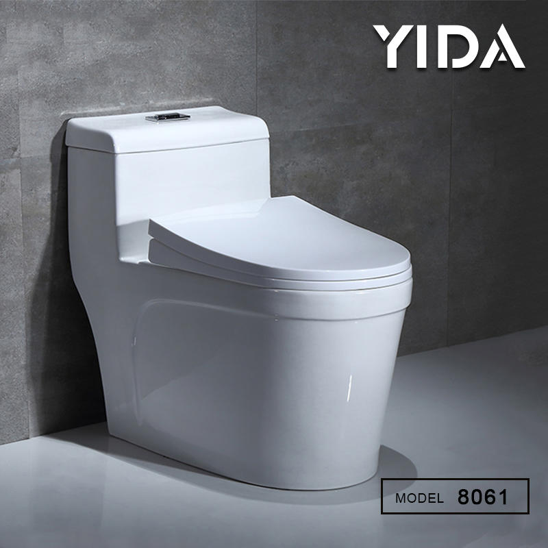 Modern bathroom sanitary water closet pan ceramic toilet - 8061