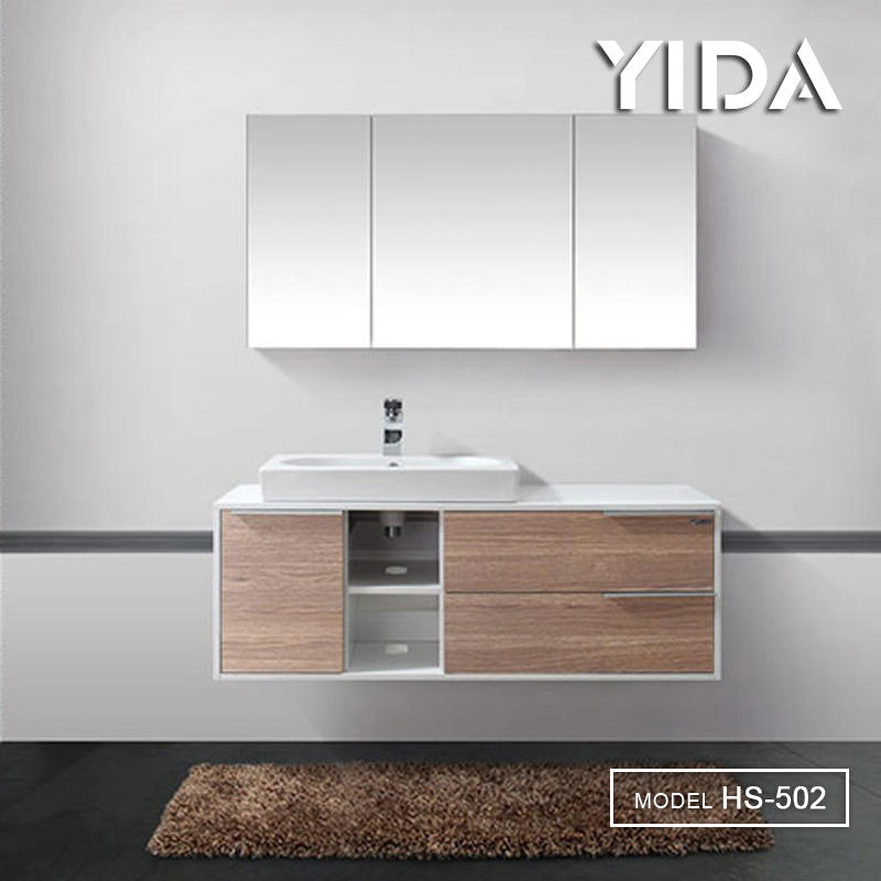 YIDA Plywood Bathroom Vanity for Lavatory - HS-502A