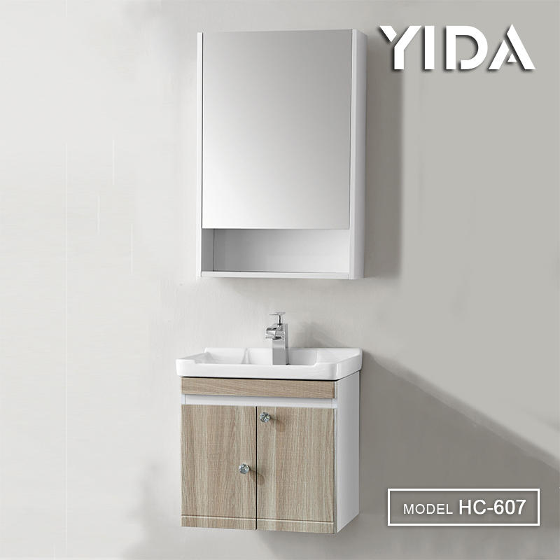 Plywood Lavatory Vanity / Cabinet for Wash Basin - HC-607