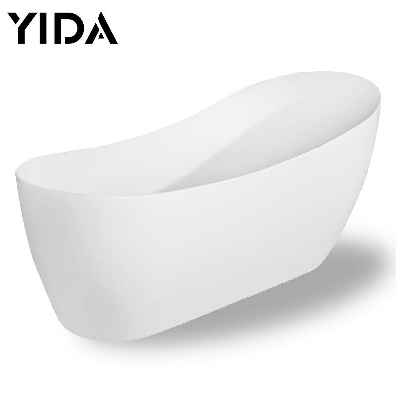 European bathtub freestanding acrylic small for hotel used - QT-019