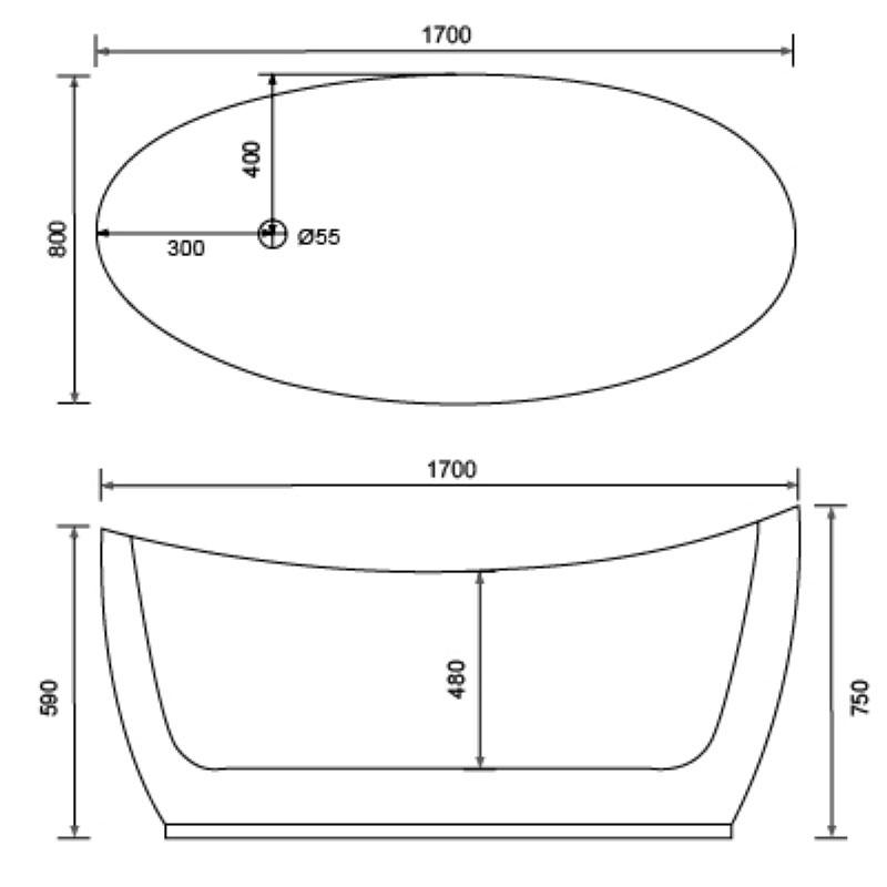 Adults plastic tubs for prefeb house - QT-023