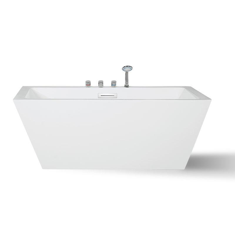 Square freestanding bathtub hotel combo QT-043