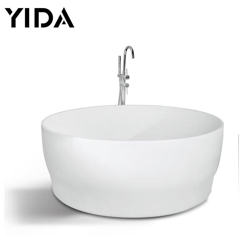 Foshan bathtubs small simple round shape