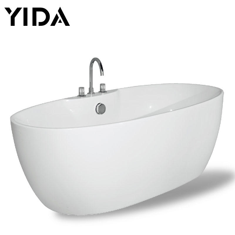 Tubs CE modern freestanding white color acrylic - QT-0054