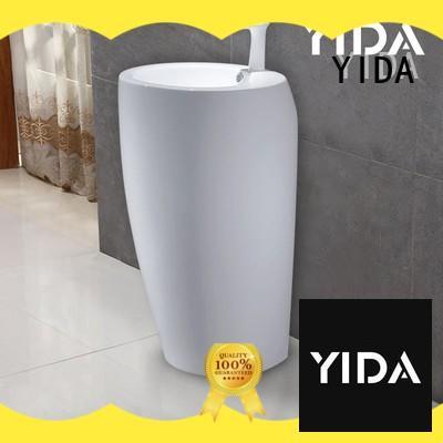 YIDA washroom basin widely used for restaurant