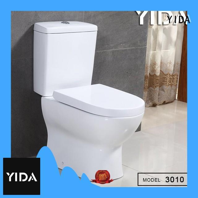durable two piece toilet factory ideal for bathroom