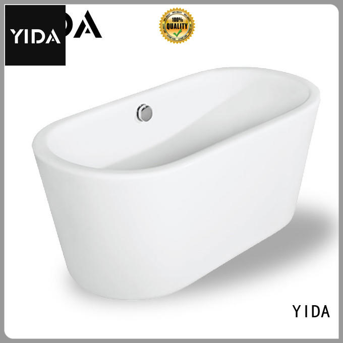 YIDA free stand bathtub widely used for hotel room