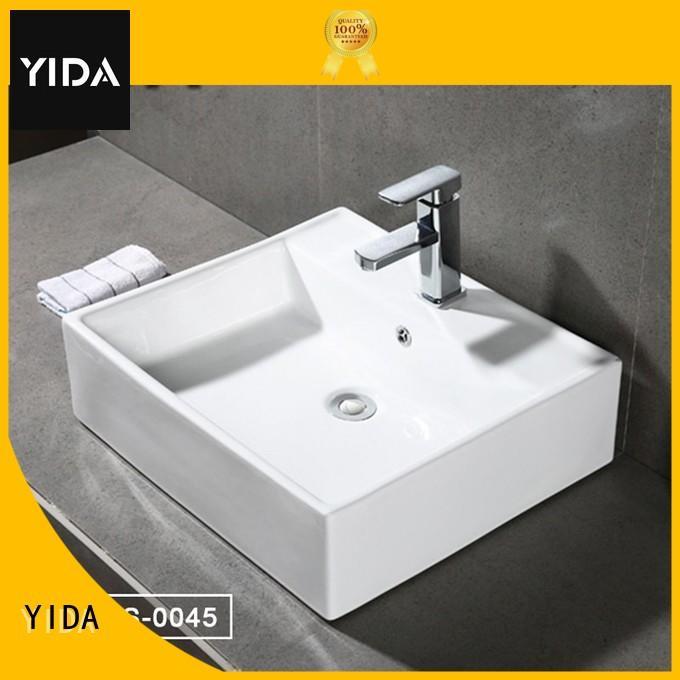 YIDA ceramic basin widely employed for apartment building