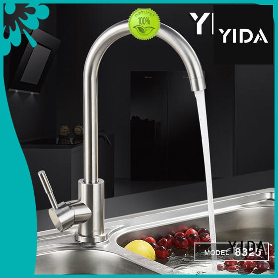 YIDA stainless steel kitchen faucet satisfying for restaurant