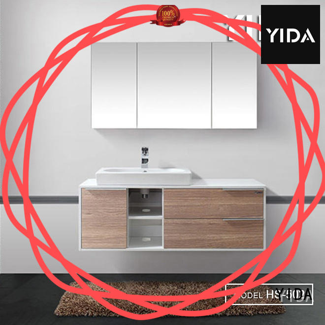 modern bath vanity great for hotel
