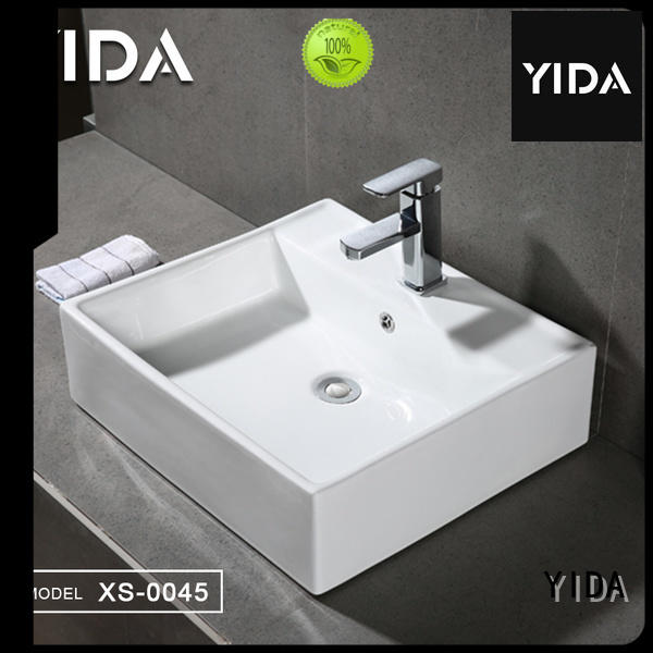 YIDA ceramic basin best choice for apartment building