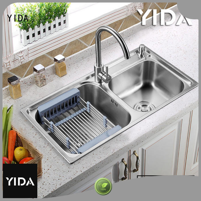 YIDA drop in stainless steel sink perfect for restaurant