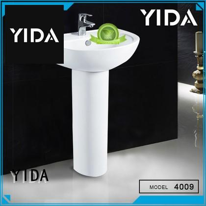 YIDA exquisite pedestal sink widely used for home