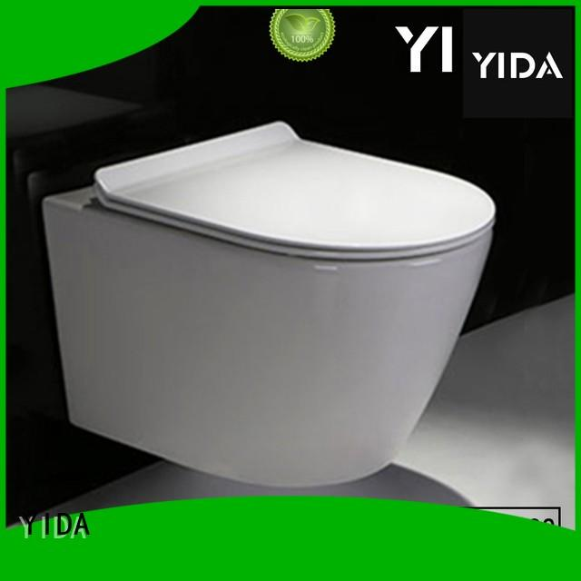YIDA convenient wall hung toilet ideal for