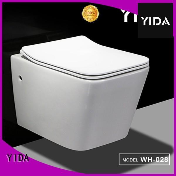 YIDA rimless wall hung toilet home