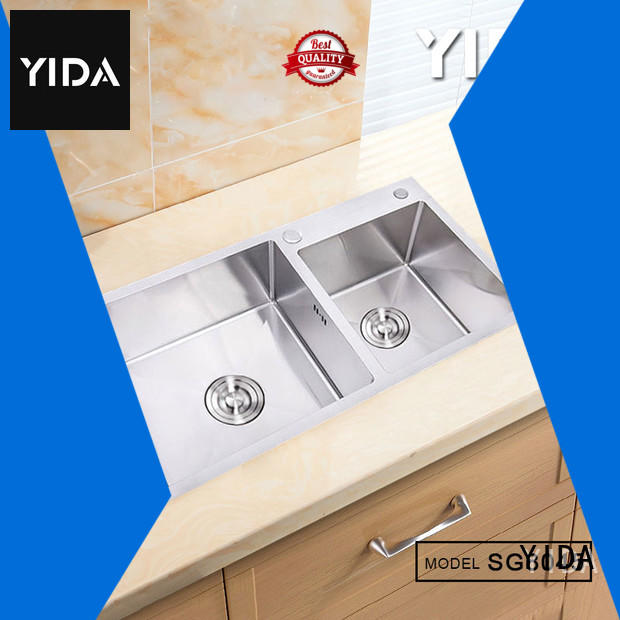 YIDA drop in stainless steel sink widely applied for kitchen