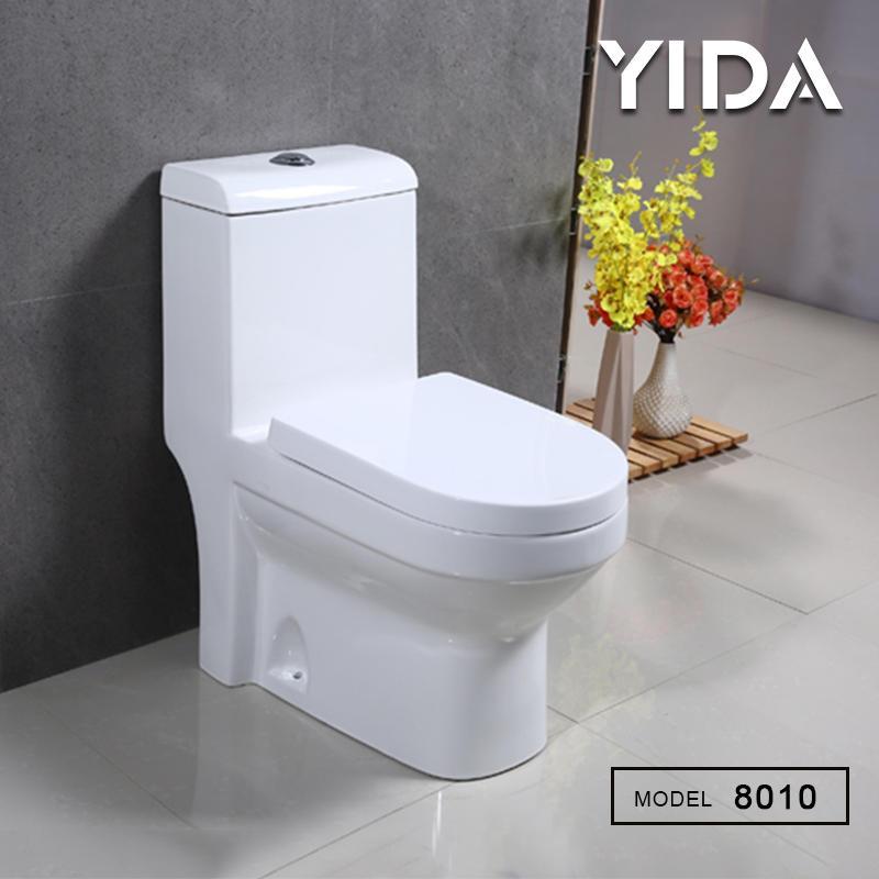 One Piece Toilet Washdown Flush 8010