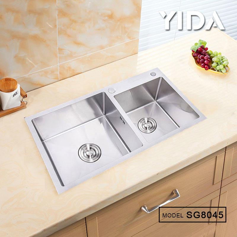 SUS 304 Kitchen Sink Hand Made - SG8045