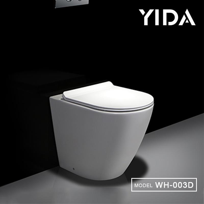 Floor mounted hidden fixing water save wc bowl
