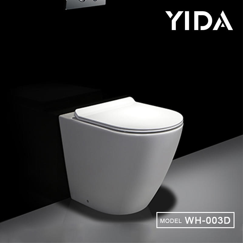 Floor mounted hidden fixing water save wc bowl