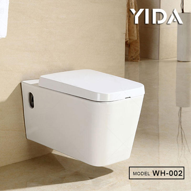 Wall Hung Toilet Ceramic Bidet Hospital Water Closet - WH-002