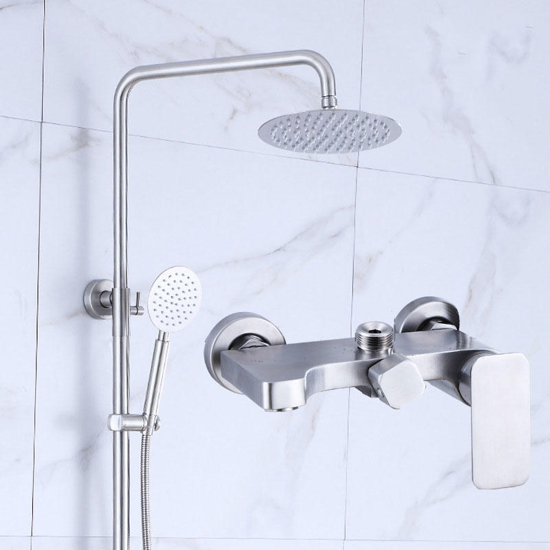 Simplistic Design Stainless Steel 304 Shower Set for Shower Room - 81002