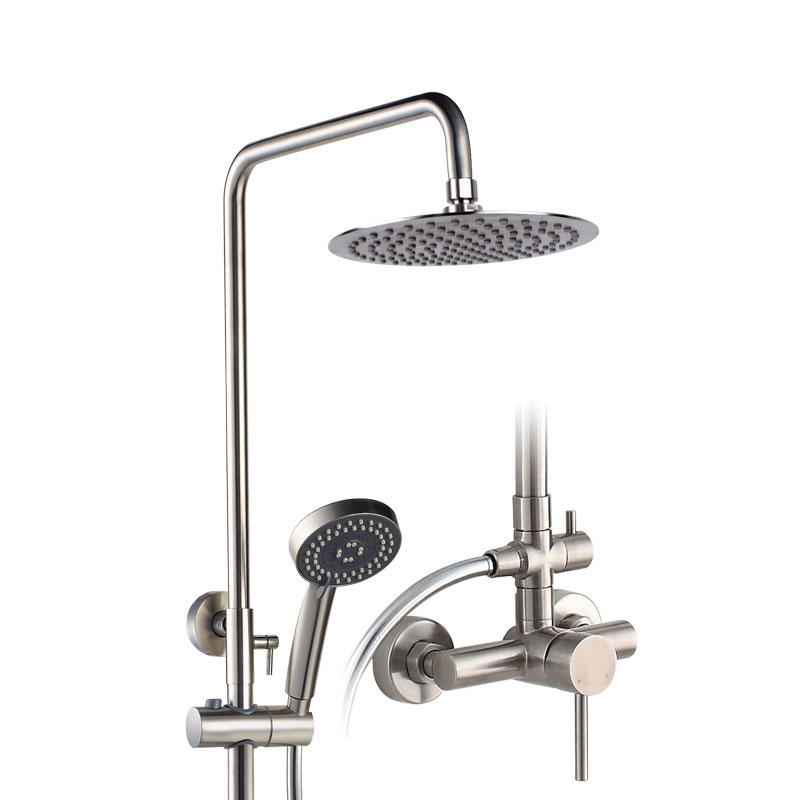 Stainless Steel SUS 304/201 3 Mode Shower Set for Bathroom Project - 8102