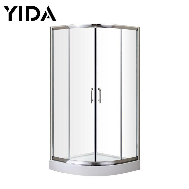 Round Corner Shower Cabin / Shower Box / Shower Cubic Made of Aluminum Material - SL5222