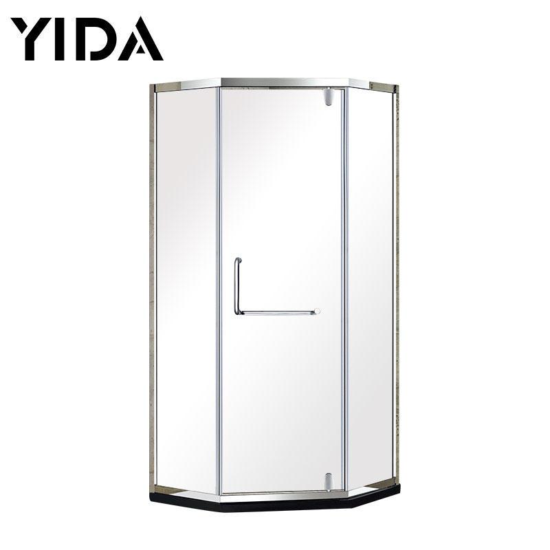 Diamond Style Stainless Steel 304 Corner Shower Room for Lavatory - ZT3221