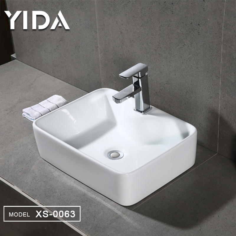 Chaozhou Ceramic Lavabo With Faucet Hole - XS-0063