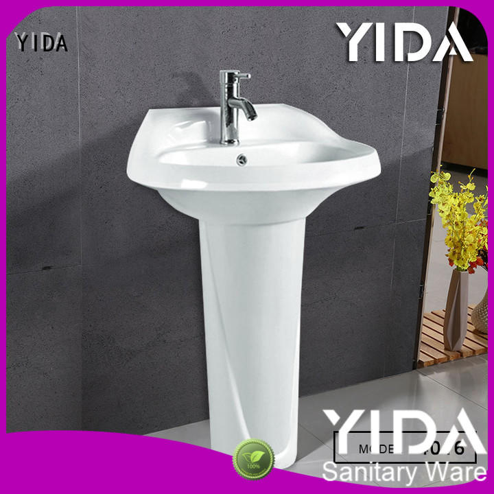 YIDA free standing sink suitable for apartment building