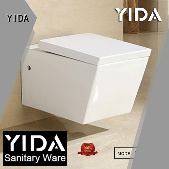 YIDA durable rimless wall hung toilet optimal for