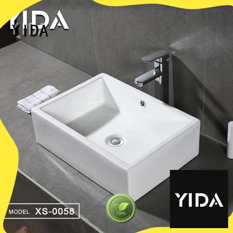 YIDA counter top basin popular for apartment building