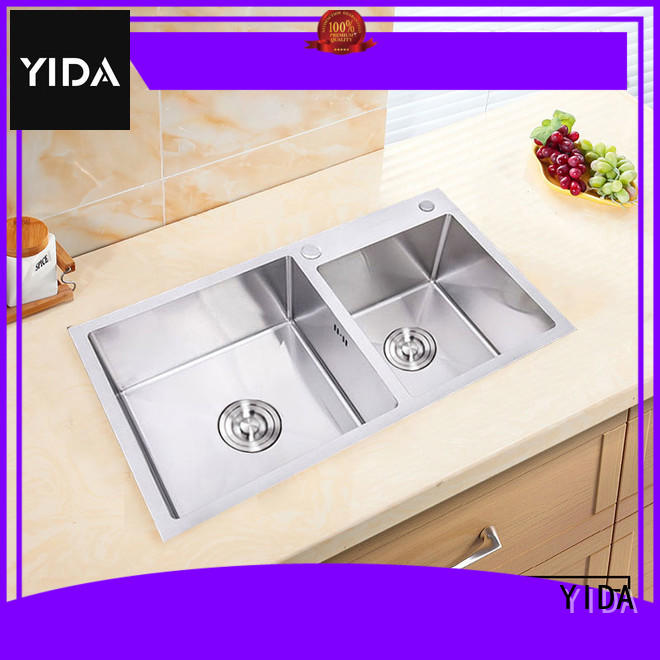 YIDA customized single stainless steel sink optimal for kitchen